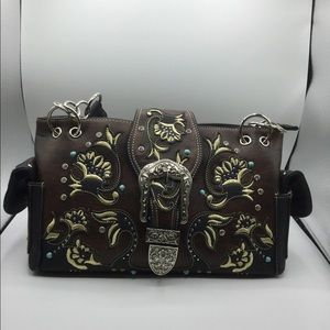Western Style Concealed Carry Purse